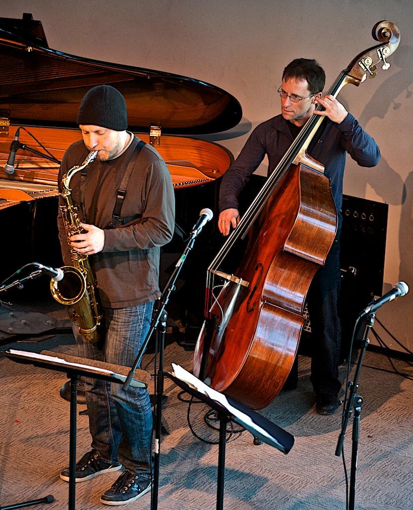Cory Weeds & Ken Lister - Cory Weeds Quintet - York University - Toronto