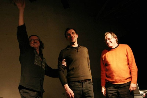 "Ramon Lopez, Jean Borde and Hans Tammen with ""Trio Lopez-Tammen-Borde"" at the Studio 14, Paris, France, 2006"