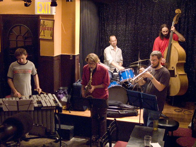 Harris Eisenstadt's Canada Day Quintet with Nate Wooley, Matt Bauder, Chris Dingman , Shanir Blumenkranz - Jimmy's 43 2007