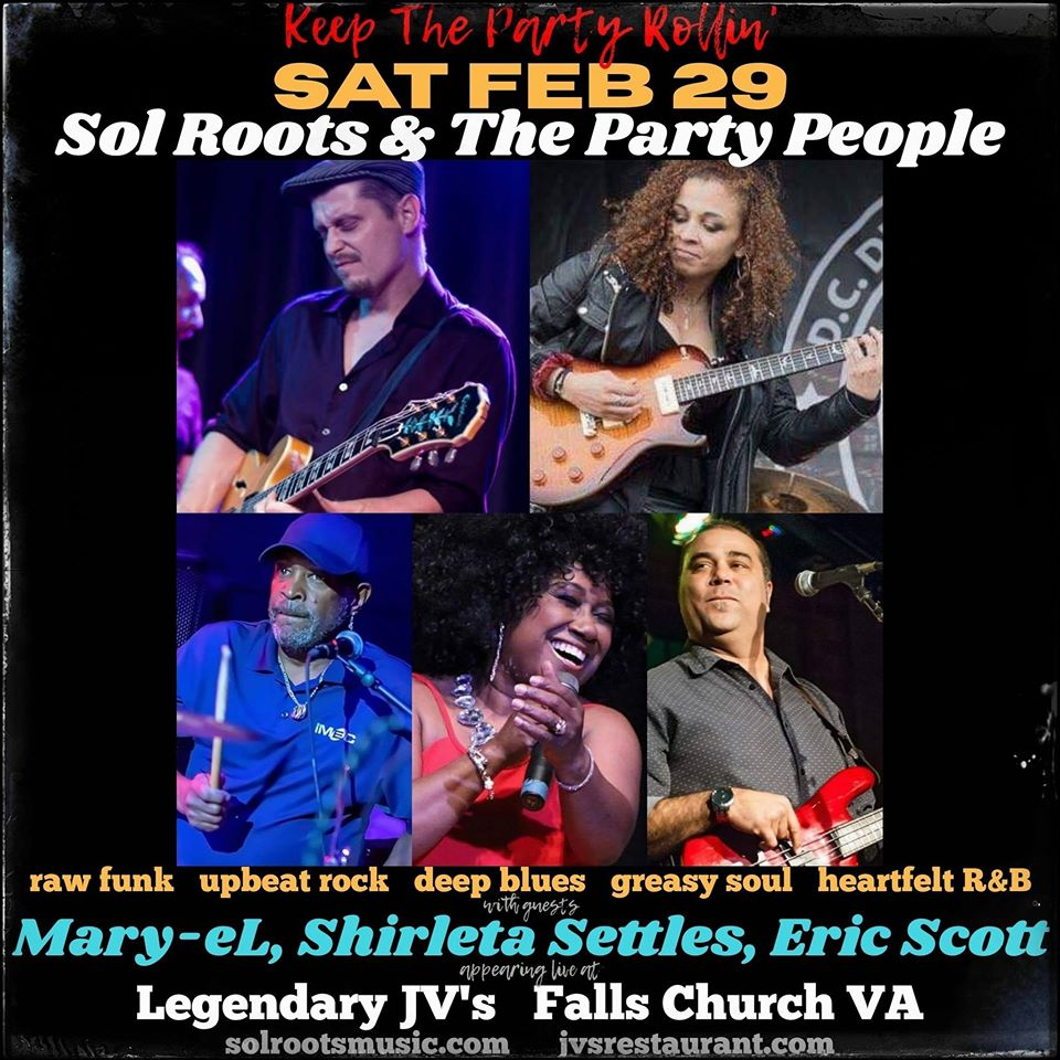 Sol Roots Band With Special Guests
