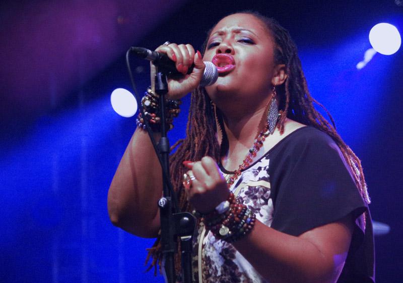 Lalah Harhaway, Love Supreme Jazz Festival