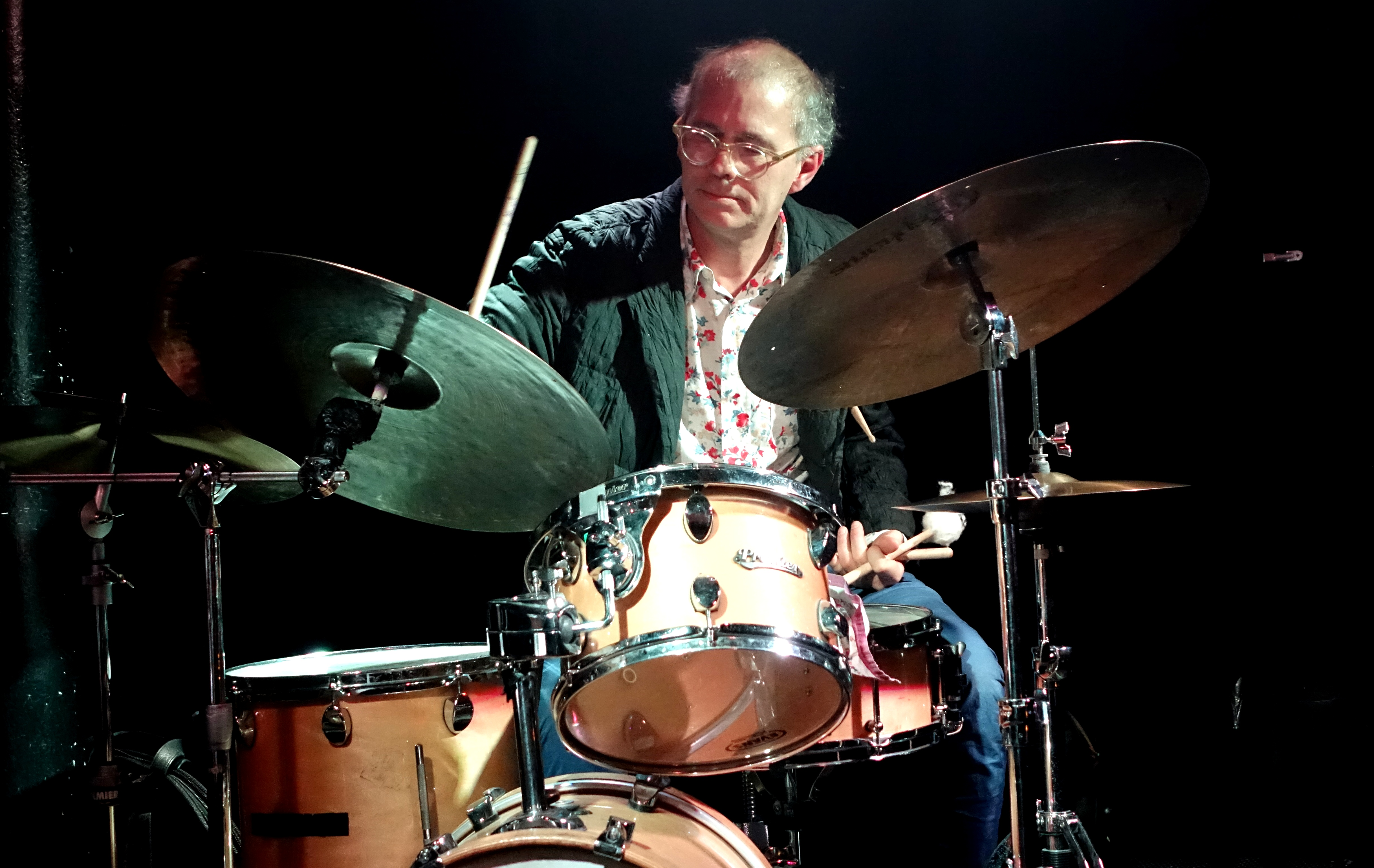 Kenny Wollesen at the Vortex, London in May 2019