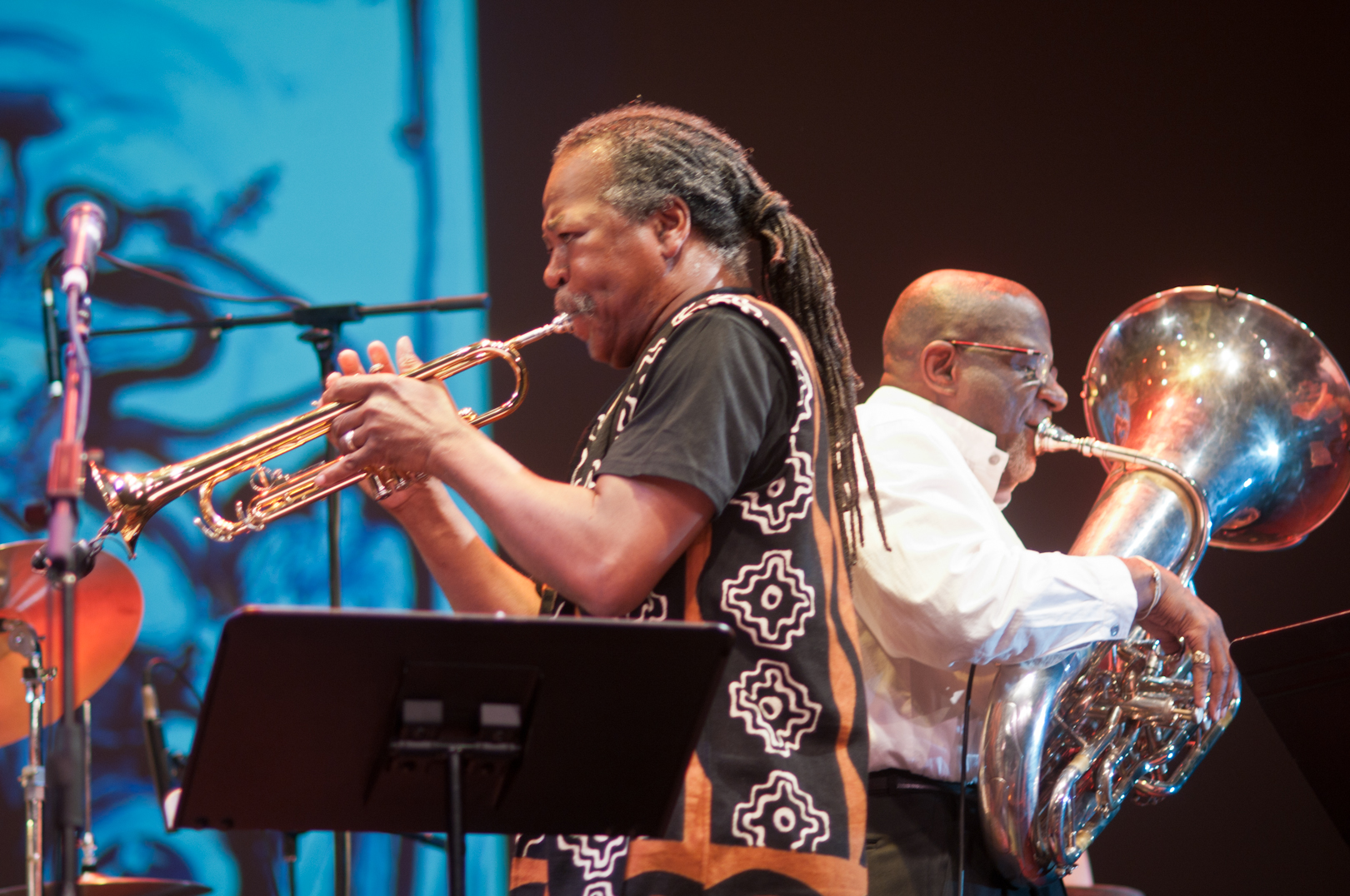 "Ahmed Abdullah and Bob Stewart with ""The Group"": A Tribute to Marion Brown & Billy Bang at the Vision Festival 2011"