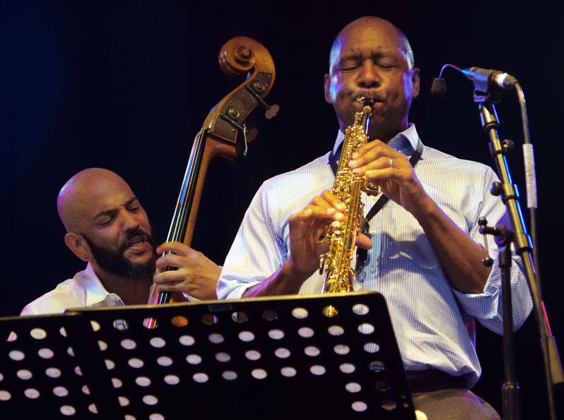 Eric revis and branford marsalis, love supreme jazz festival