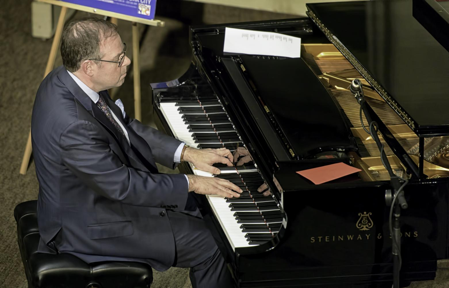Bill Charlap At The Jazz Legends For Disability Pride At The NYC Winter Jazzfest 2017