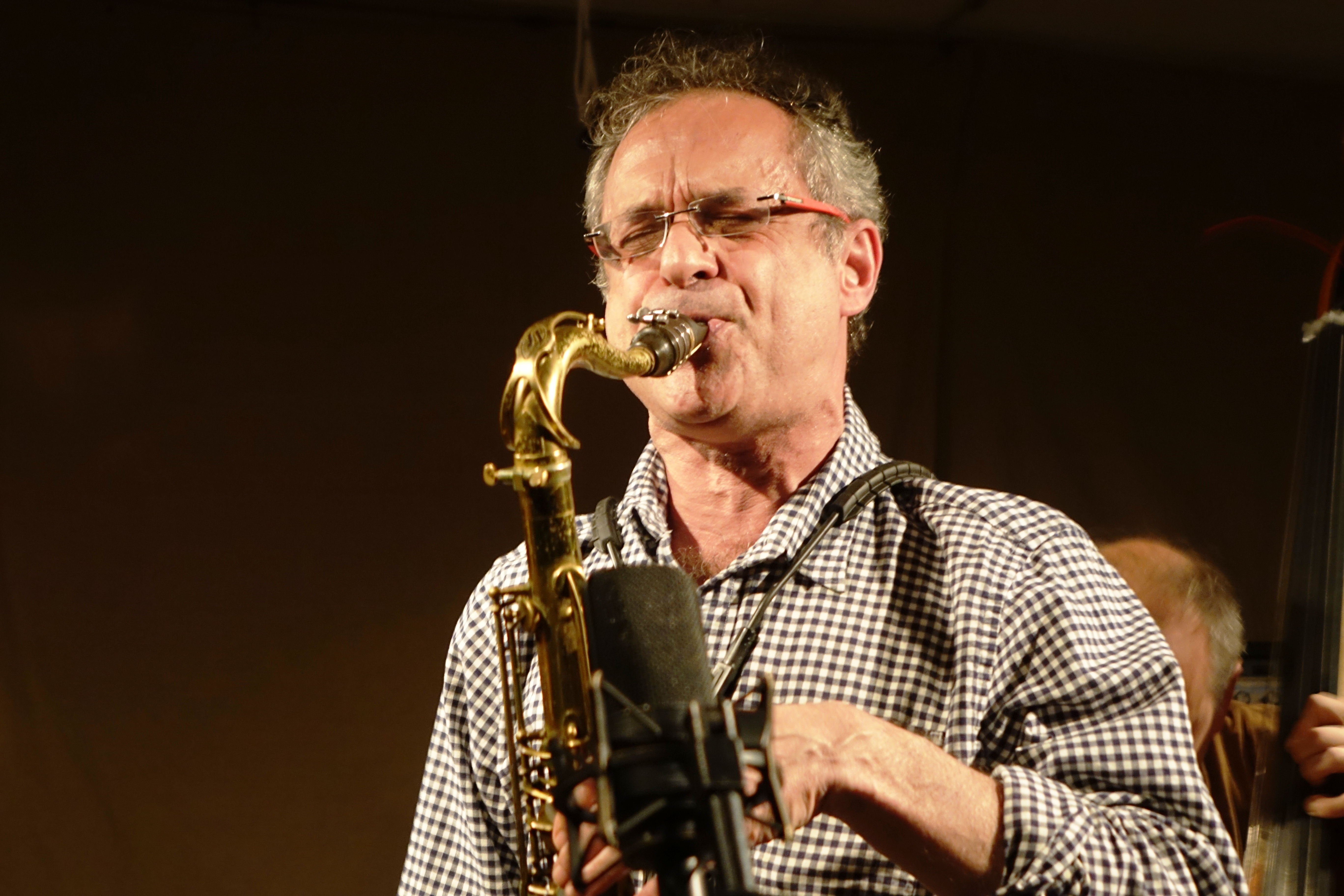 Ivo Perelman at Cafe Oto, London in October 2018