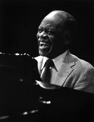 Hank Jones at the Monterey Jazz Festival in 1985