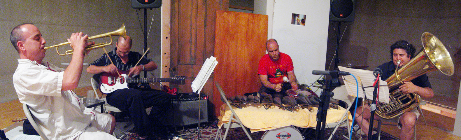 Spanish Fly With Steve Bernstein, Marcus Rojas, Dave Tronzo And Ben Perowsky - Issue Project Room 2005