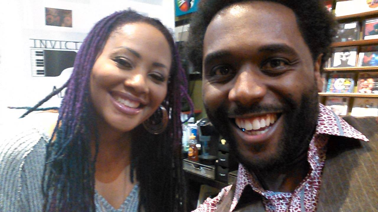 Lalah Hathaway and Jermaine Sain