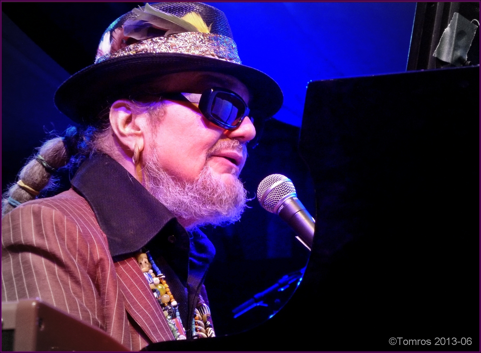 Dr. john at main stage, toronto jazz festival, june 2013