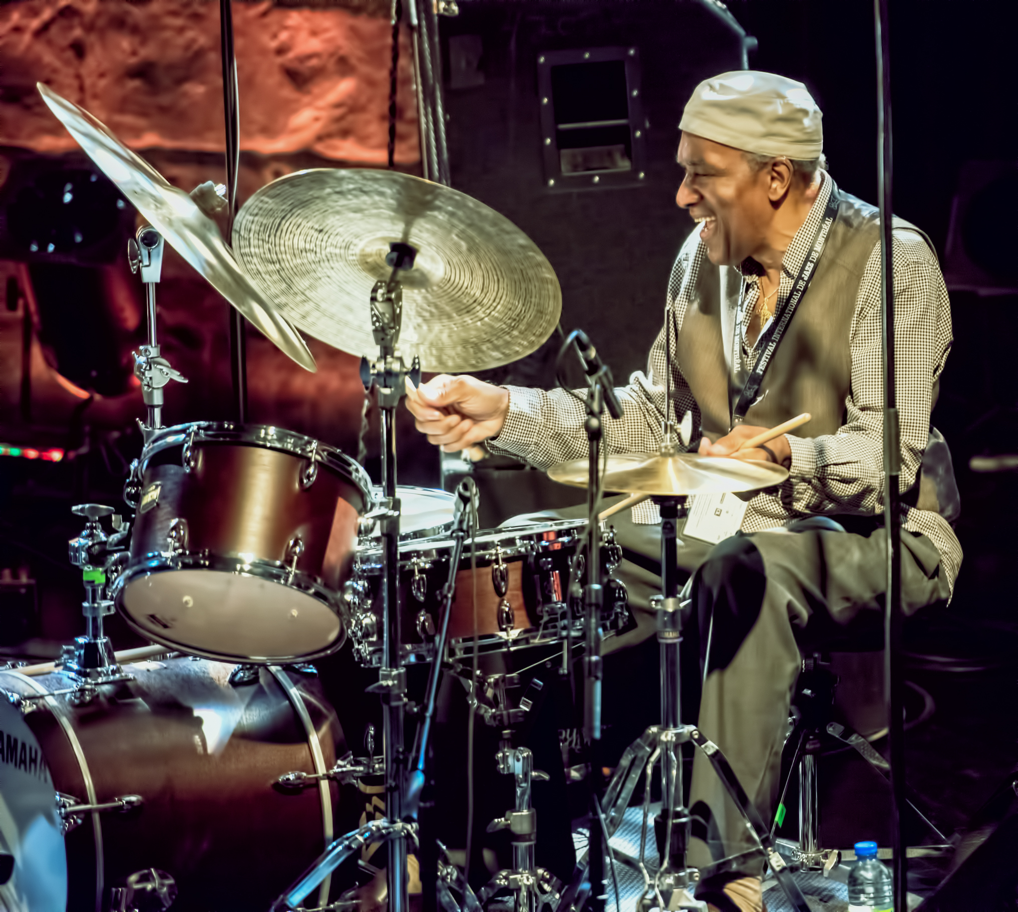 Al Foster With Heads Of State At The Montreal International Jazz Festival 2015