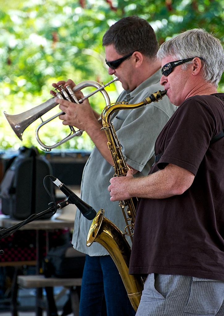 Kevin Turcotte - Mike Murley - Barry Elmes Quintet - Markham Jazz Festival 2012