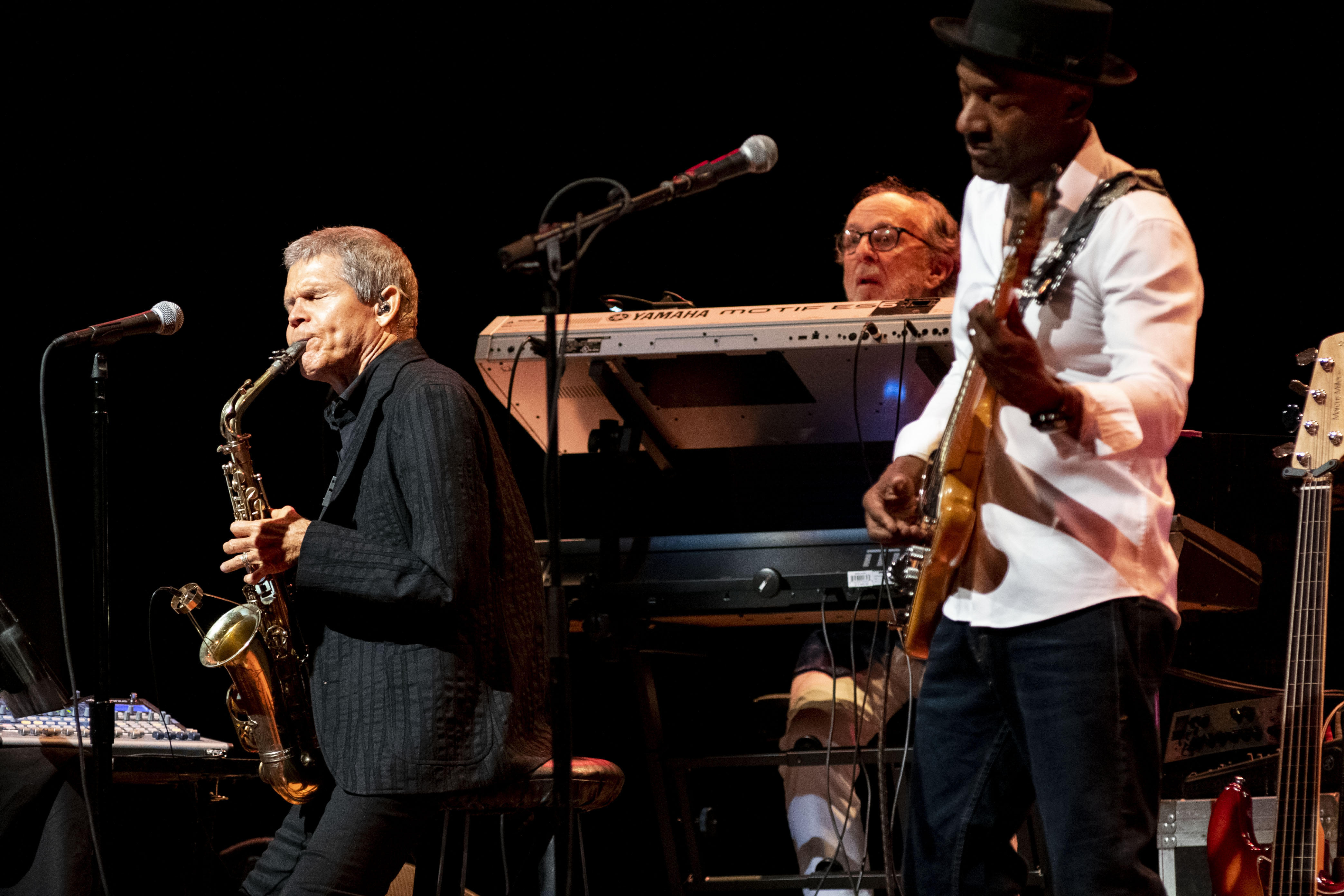 David Sanborn, Bob James, and Marcus Miller