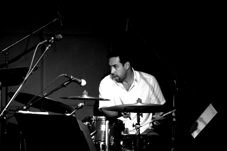 Antonio Sanchez with Billy Childs Jazz-Chamber Ensemble at Jazz Standard New York April 2006