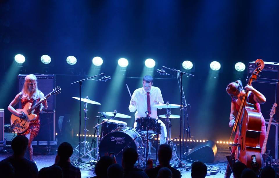 Hedvig mollestad trio @ 2013 molde jazz festival