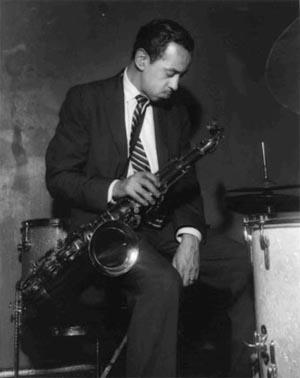Paul Gonsalves , 1957, Flamingo Jazz Club, Wardour Street, London.