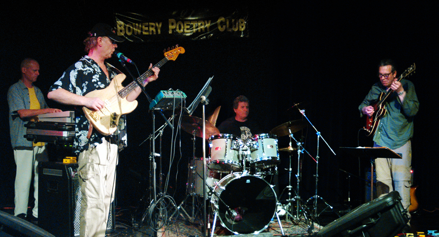 Hatfield &Amp; the North with Phil Miller, Richard Sinclair, Pip Pyle and Alex Maguire - Bowery Poetry Club 2006