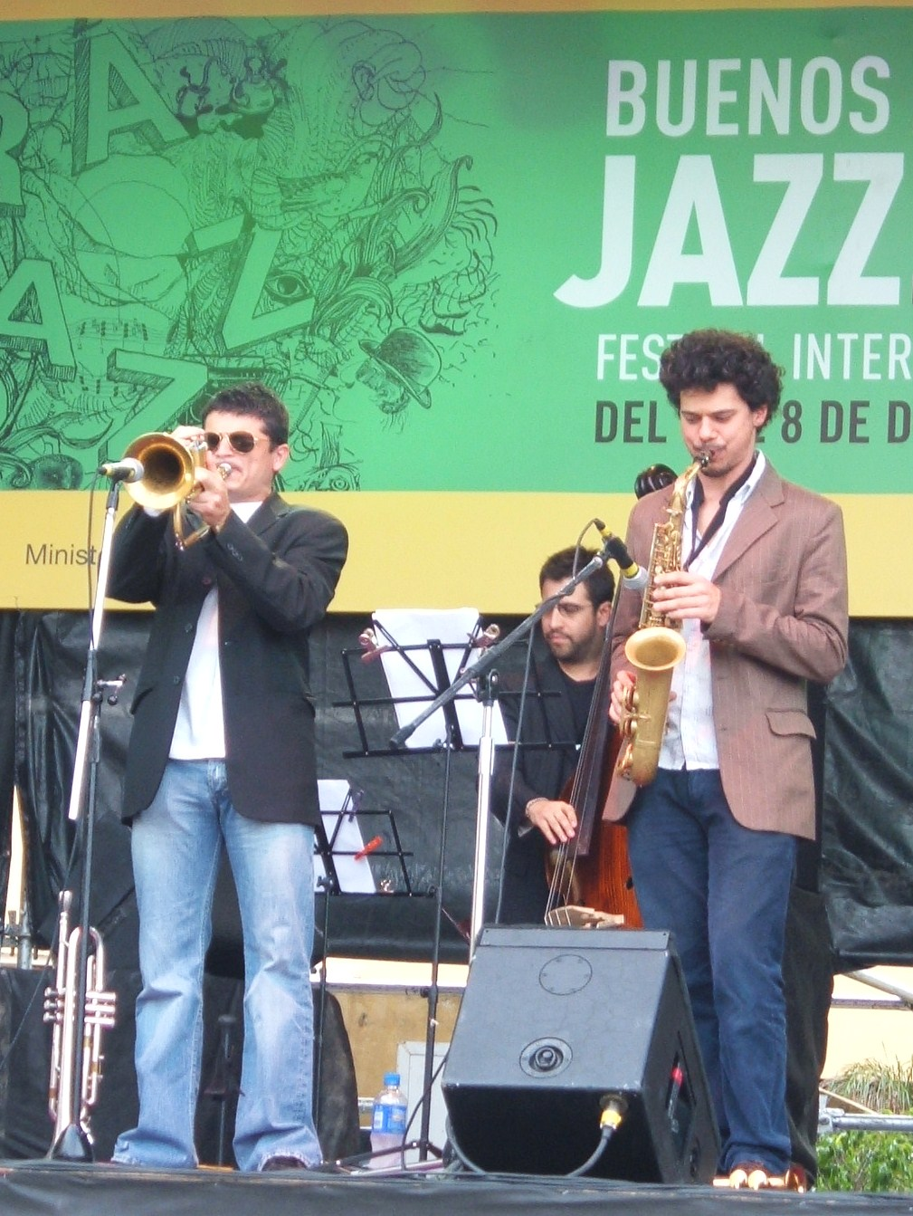 Mariano Loiacono and Ramiero Flores