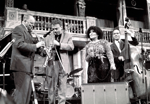 John Dankworth : Tim Garland : Cleo Laine : Alec Dankworth 1081235 Images of Jazz