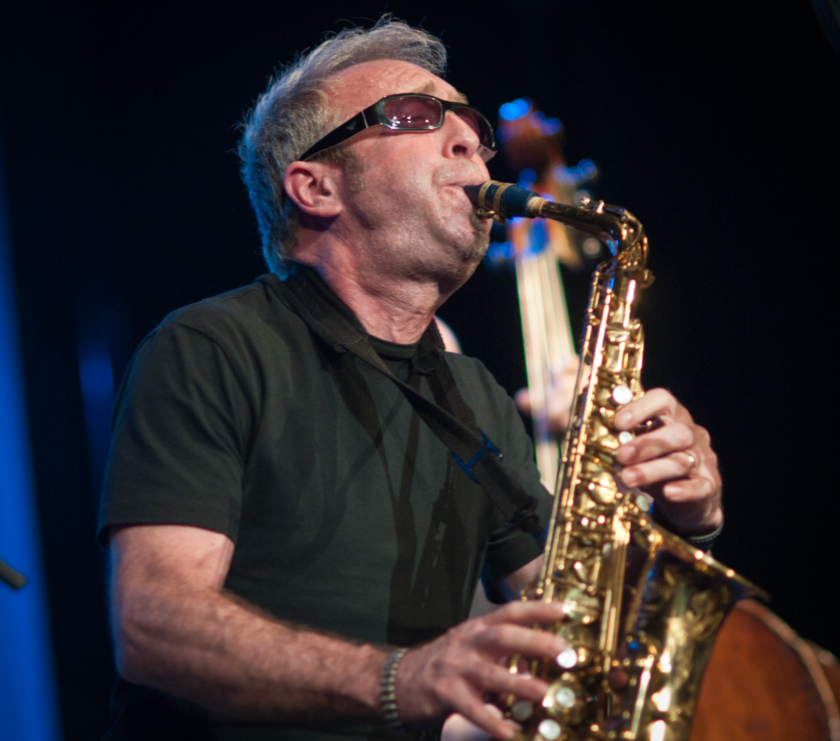 Mars Williams with Peter Brotzmann's Quintet at the Vision Festival 2011
