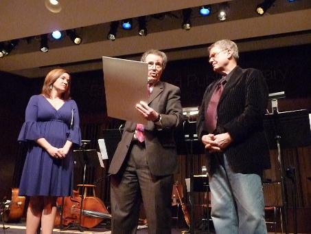 Charlie Haden Receives Award at 2010 Tri-C Jazzfest Cleveland