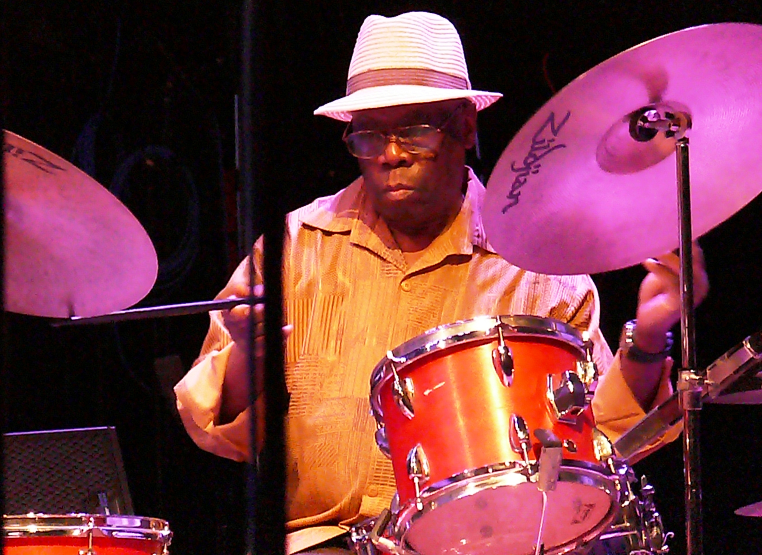 Andrew Cyrille at the Vision Festival in June 2012