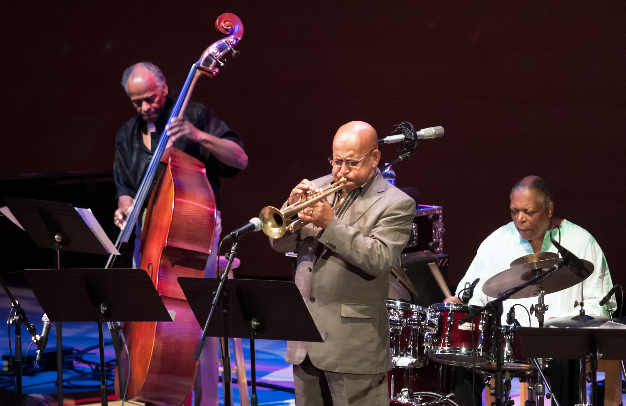 Cecil Mcbee, Eddie Henderson And Billy Hart With The Cookers At The Musical Instrument Museum (mim) In Phoenix