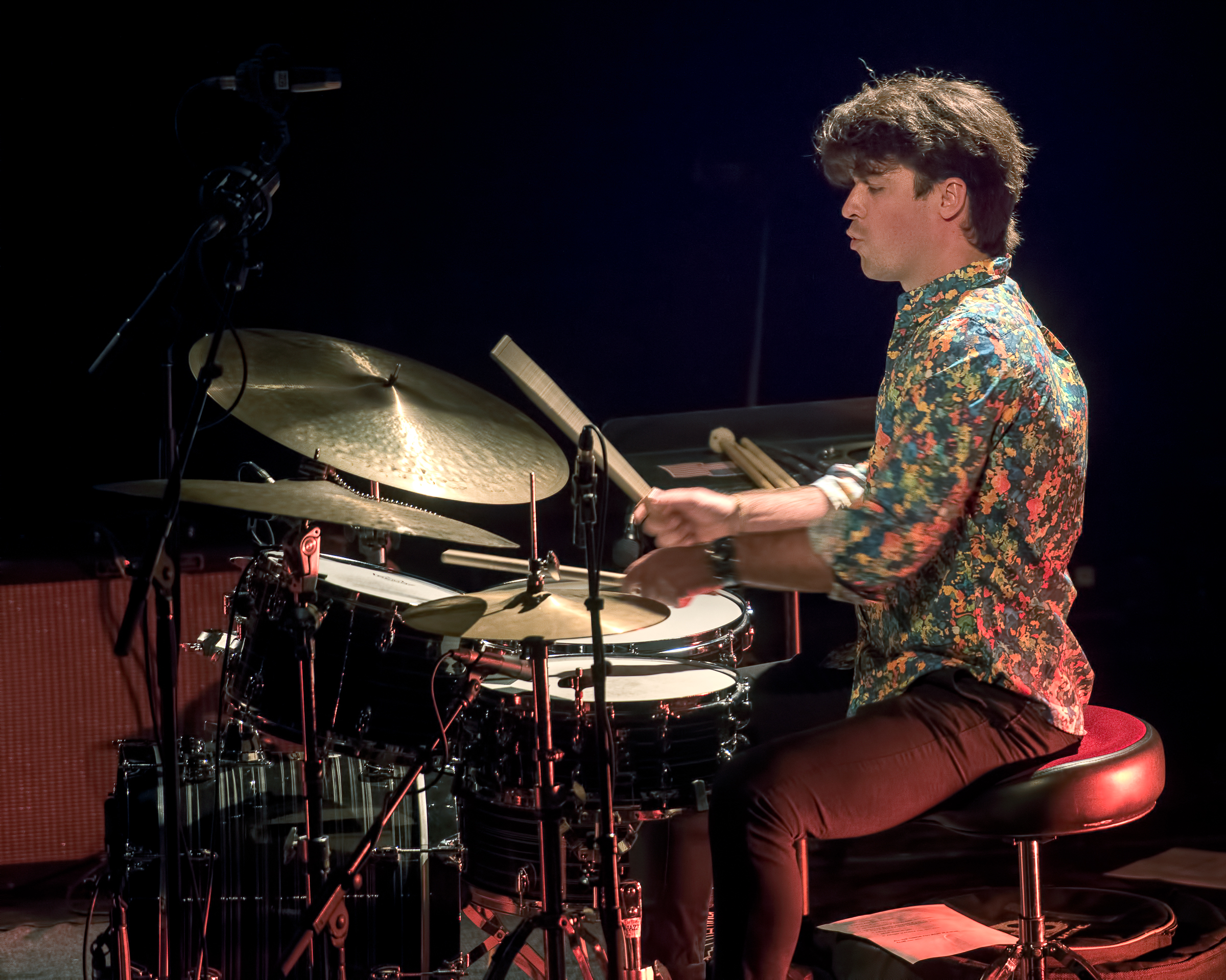 Dominic Cloutier with the Emie Rioux-Roussel Trio at The Montreal International Jazz Festival 2018