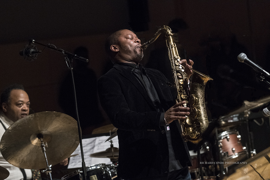 Ravi Coltrane at the 2018 Winter Jazz Festival