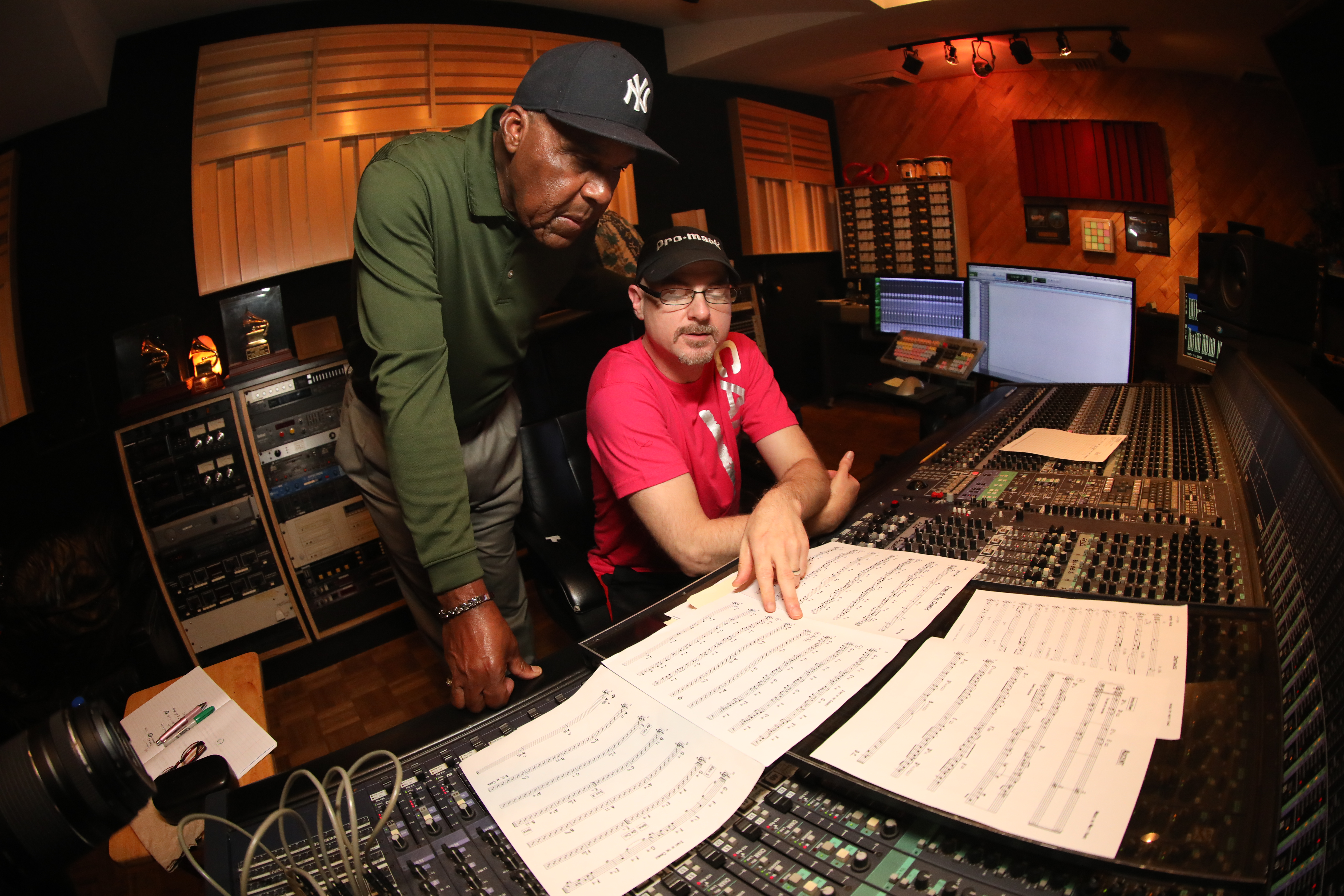 Working with World Class Producer Michael Carvin