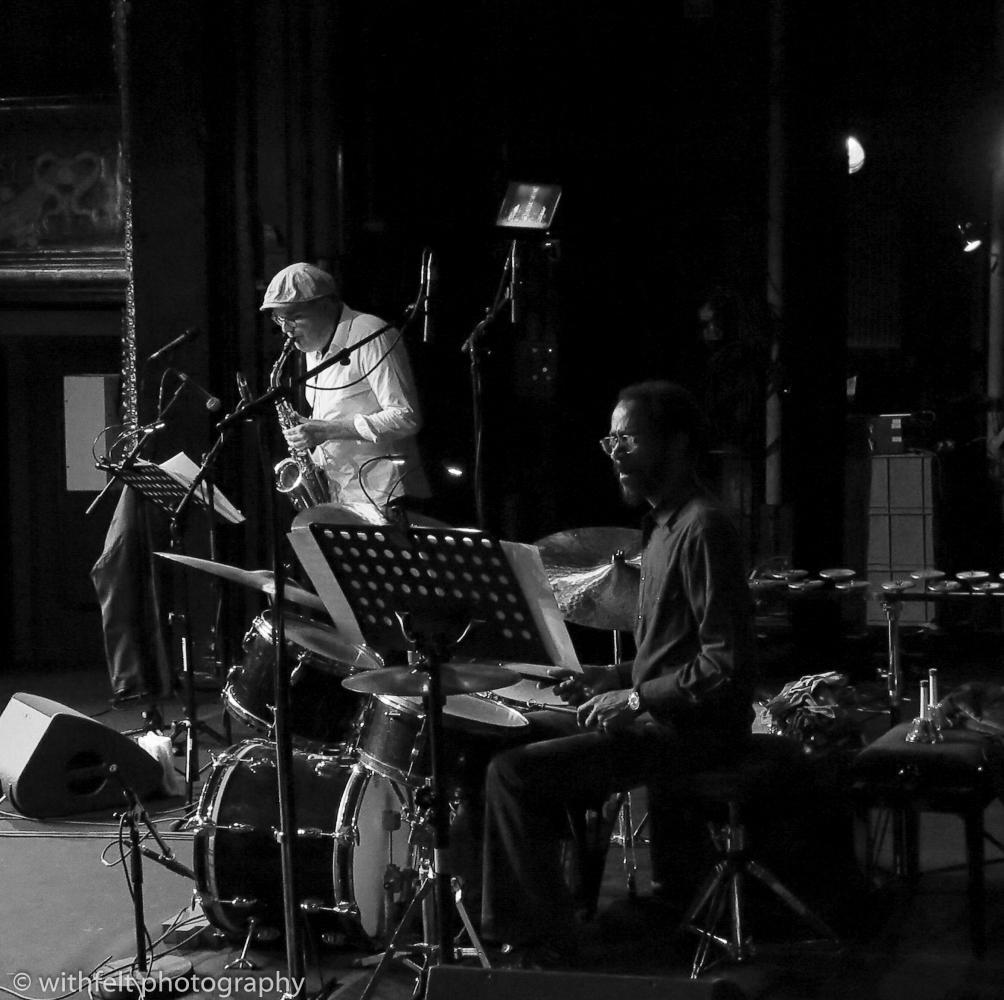 Benjamin Koppel & Brian Blade at Summer Jazz 2016 in Copenhagen