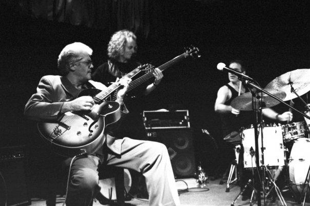 Larry Coryell Trio in Barcelona, Spain
