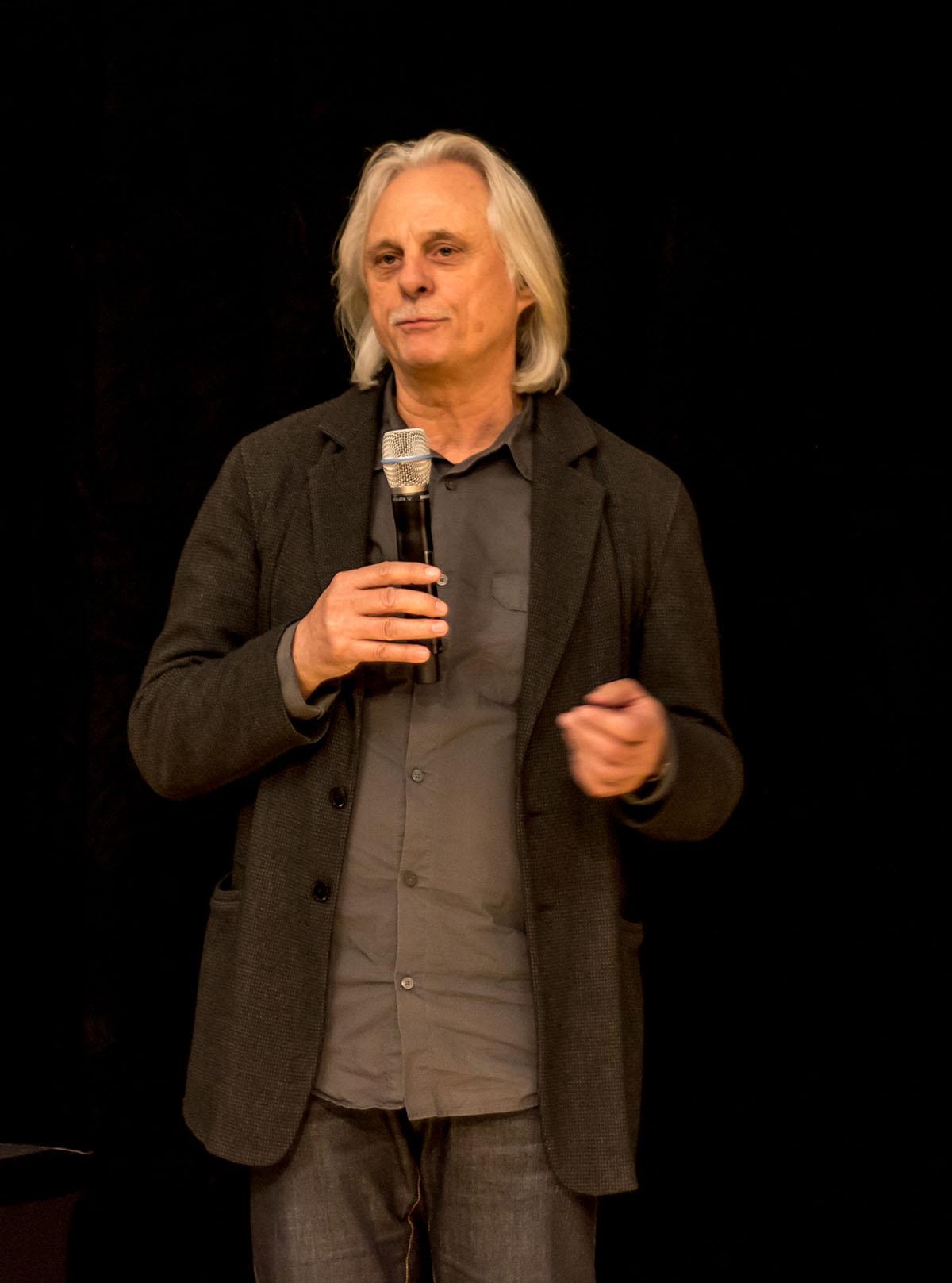 Manfred Eicher, 2012 Enjoy Jazz Festival.