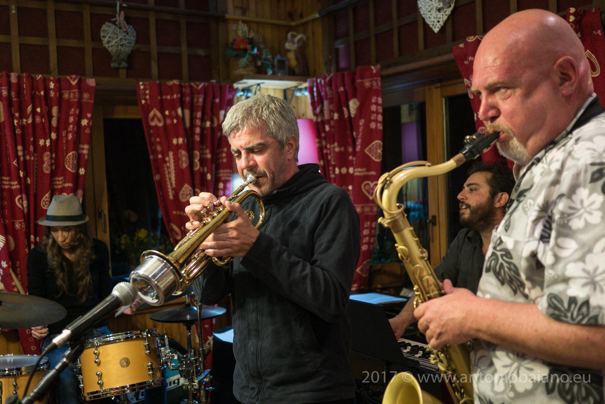 Hyper-bop Jazz Trio w/guest Giorgio Li Calzi - Chamoisic Festival 2017