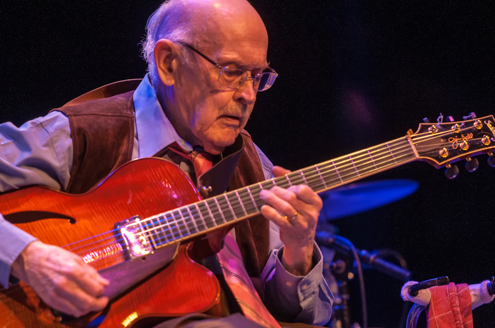 Jim Hall at Jazz for Obama at Symphony Space