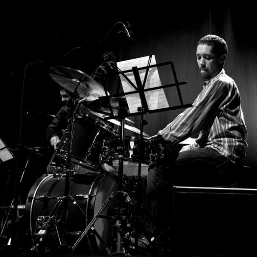 Richie Barshay of Dan Tepfer Trio - Gdansk in Jan. 2008