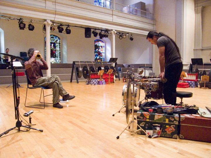 Leonel Kaplan &Amp; Tatsuya Nakatani - Font Festival St. Mark's Church 2007