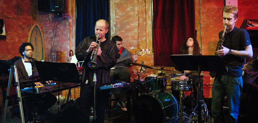 Andy Milne's Bandwidth with Loren Stillman, Jonathan Powell, Chris Tordini and Kenny Grohowski - Tea Lounge 2006