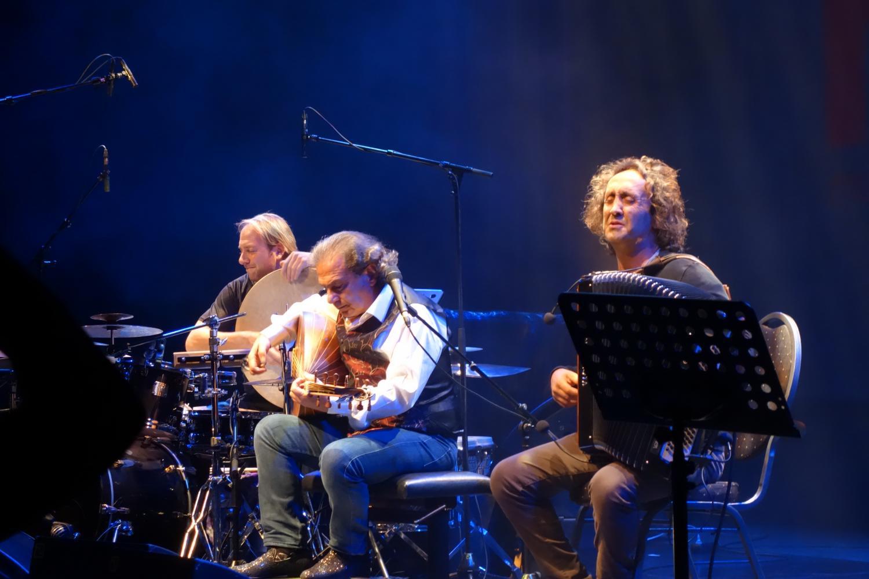 Jarrod Cagwin, Rabih Abou-Khalil, Luciano Biondini - November Music 2016, s'Hertogenbosch