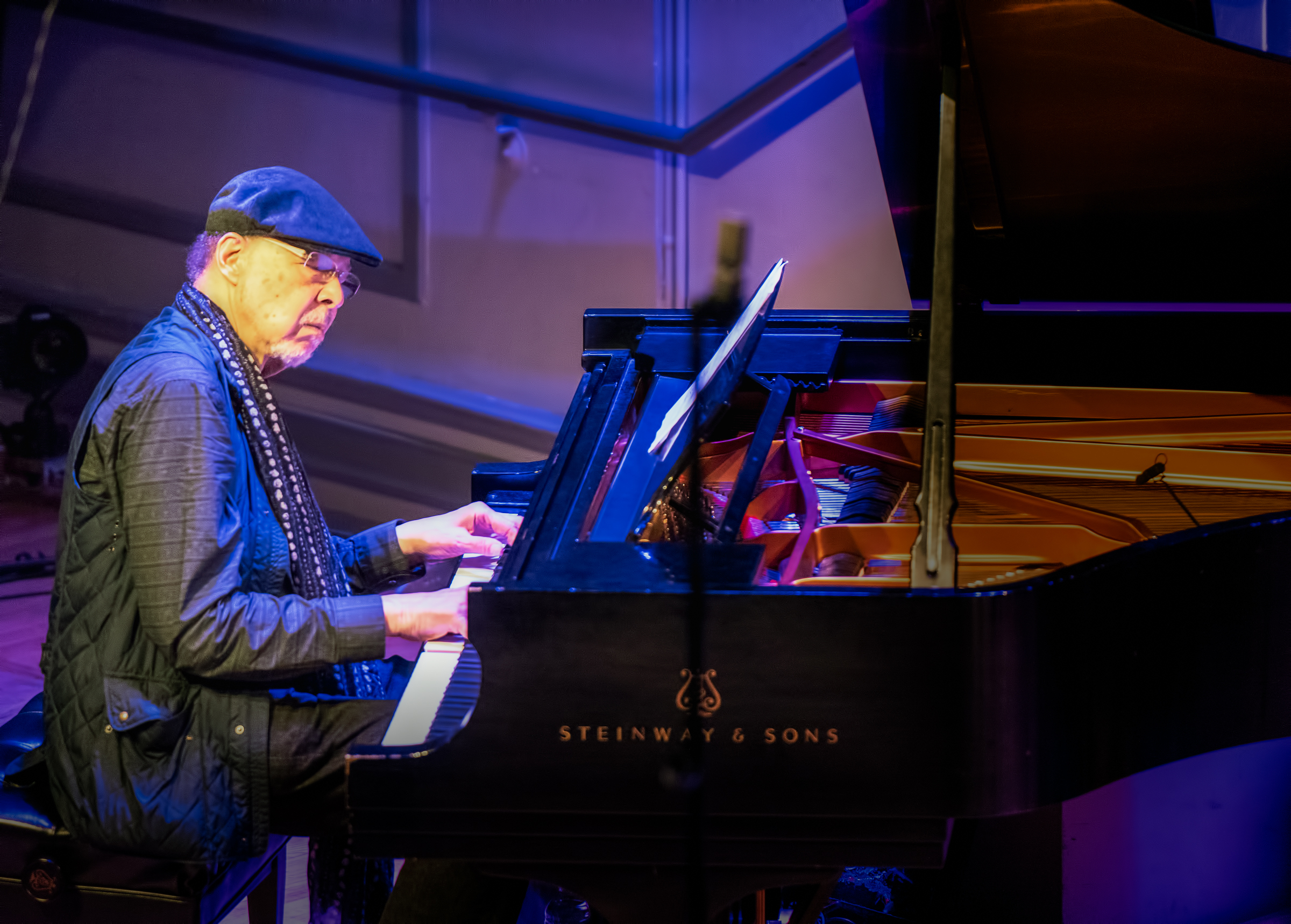 Dave Burrell with the Archie Shepp Quartet At the Vision Festival 2018