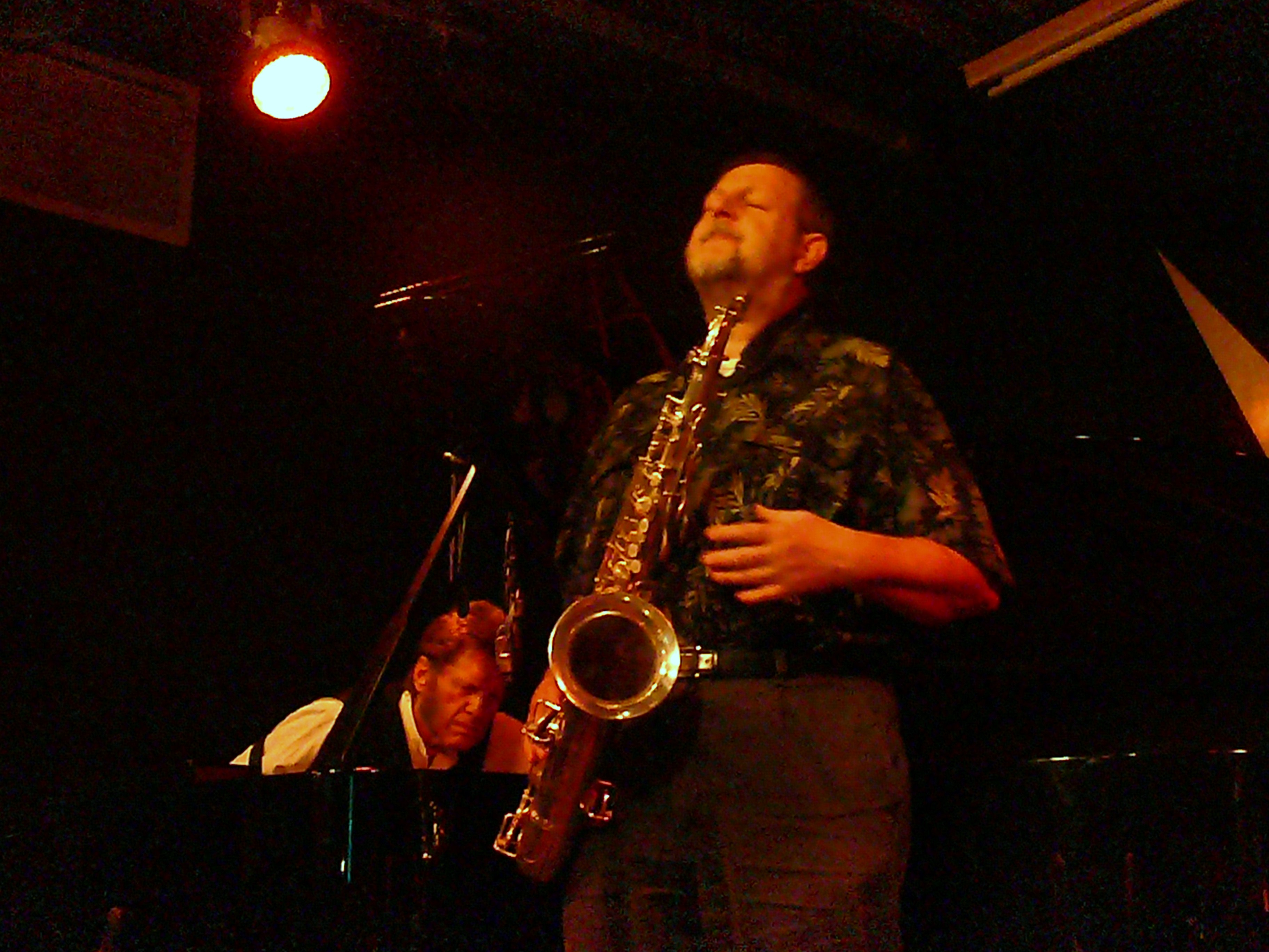 Keith Tippett and Paul Dunmall at the Vortex, London