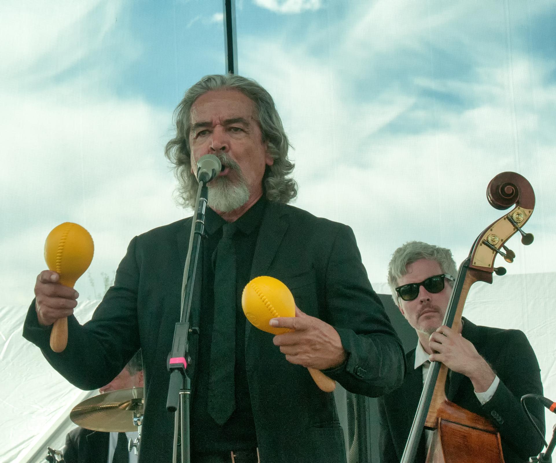 Salvador Duran With Orkesta Mendoza At The Mim Global Music Festival