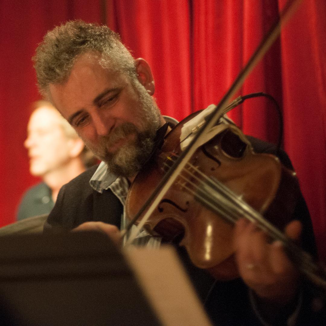 Mat Maneri with the Kris Davis Quintet at the Cornelia Street Cafe
