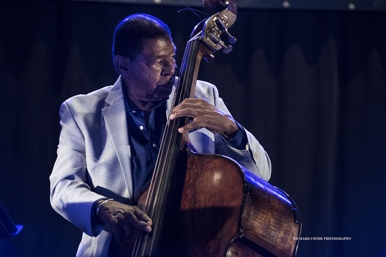 Buster Williams at the 2018 Charlie Parker Jazz Festival