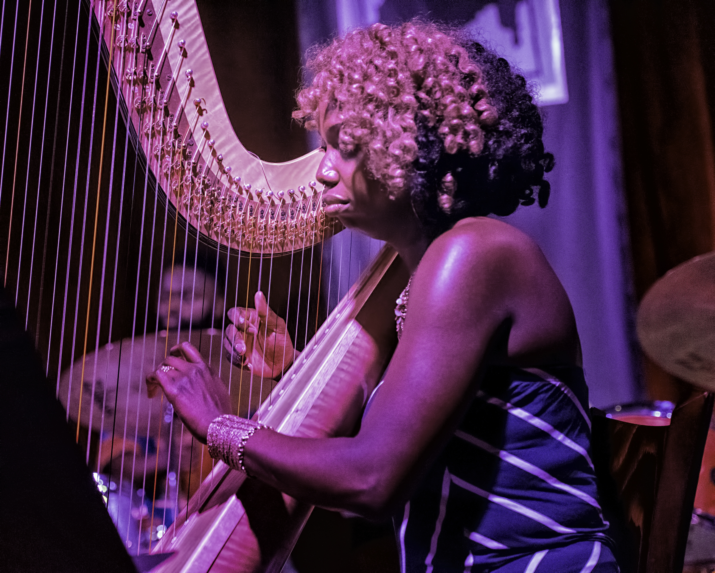 Brandee Younger with Ravi Coltrane Presents Universal Consciousness: Melodic Meditations of Alice Coltrane at the Jazz Gallery