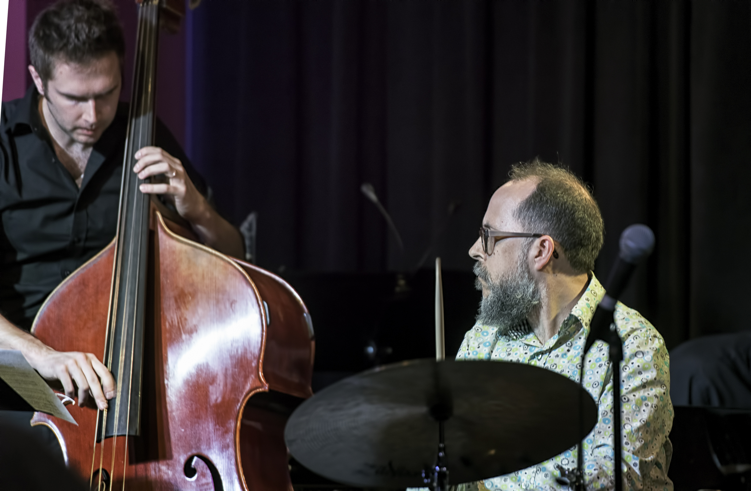 Ben Hedquist And John Hollenbeck With Eric Rasmussen And Scottsdale Community College Jazz Orchestra At The Nash In Phoenix