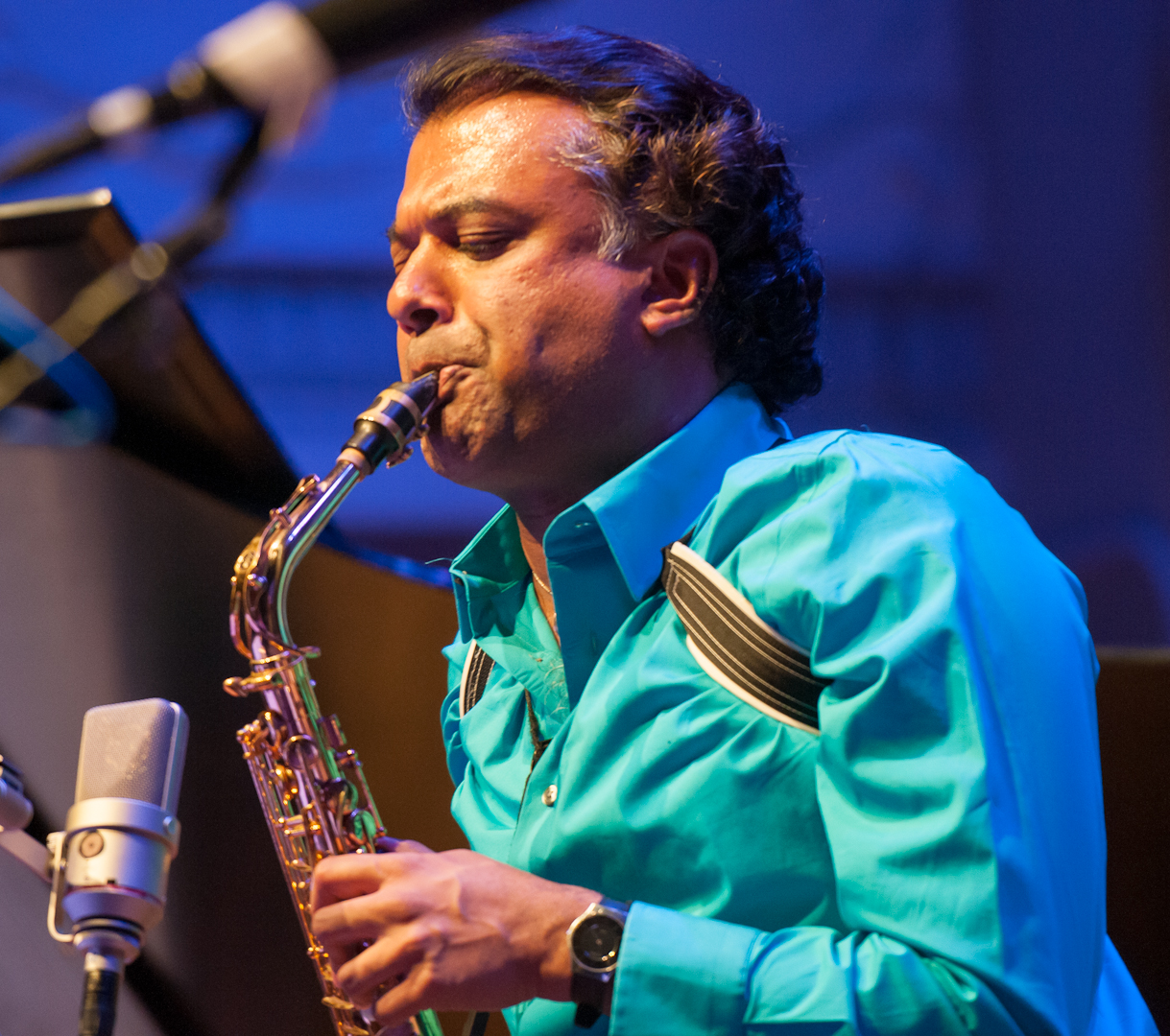 Rudresh Mahanthappa with the Mark Dresser Quintet at the Vision Festival 2012
