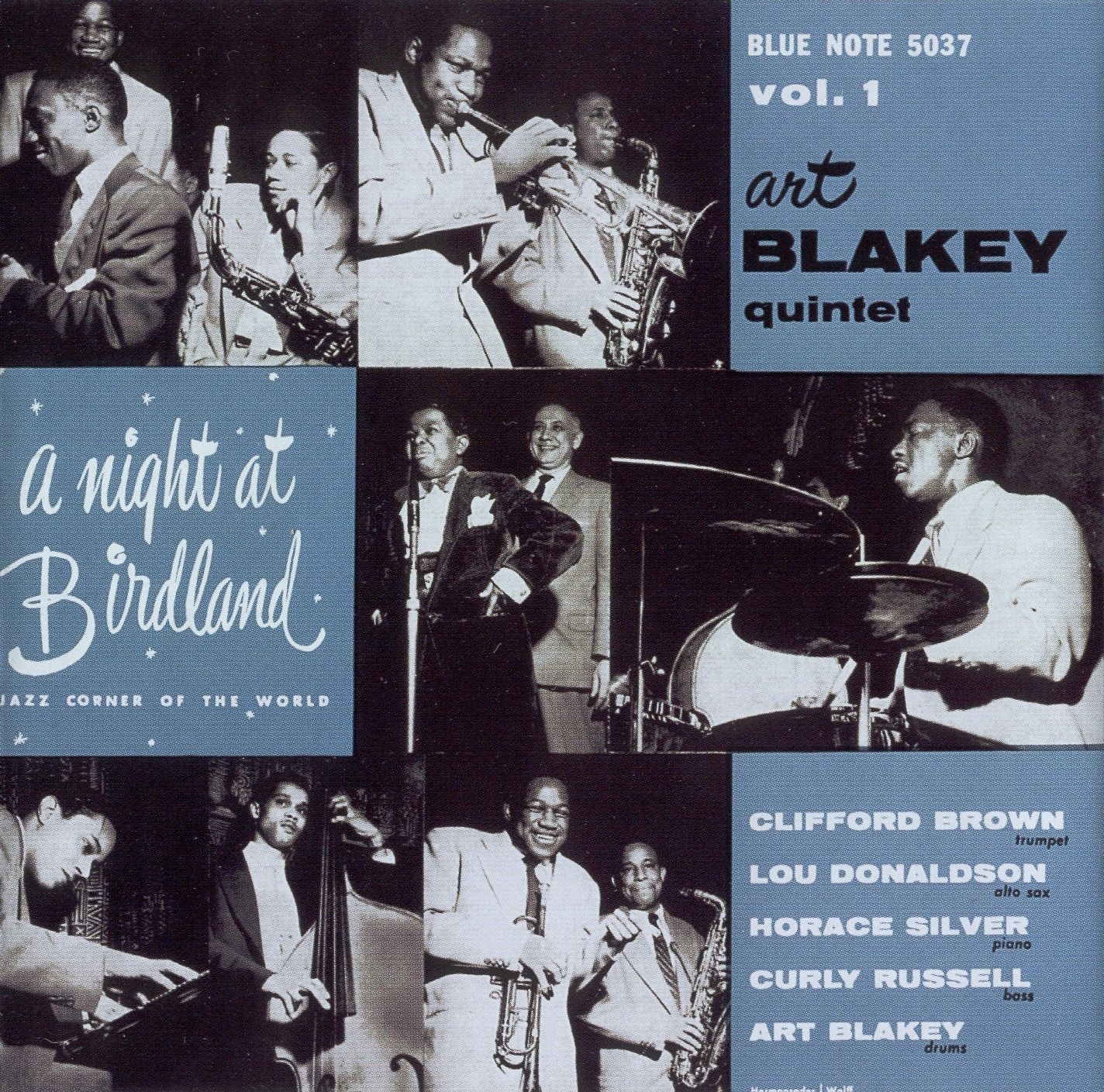 Art Blaket Quintet - A Night at Birdland I (Blue Note, 1954)