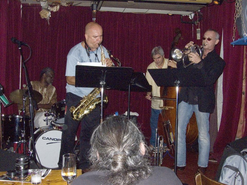 Alipio C Neto Quartet with Brian Groder, Ken Filiano and Michael T.A.Thompson - Cornelia St 2007