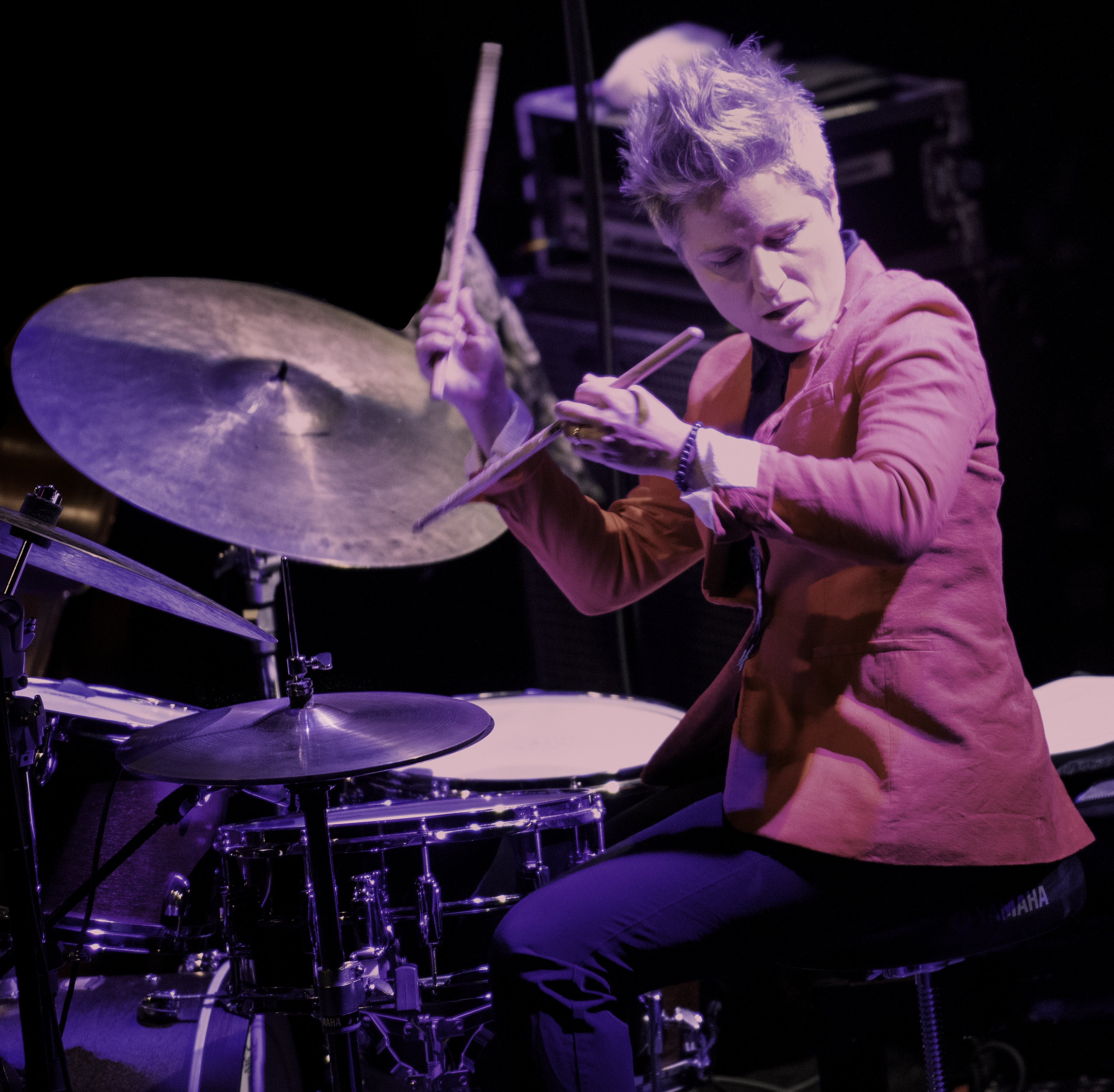 Allison Miller with Christine Jensen's New York Quartet At The Montreal International Jazz Festival 2019